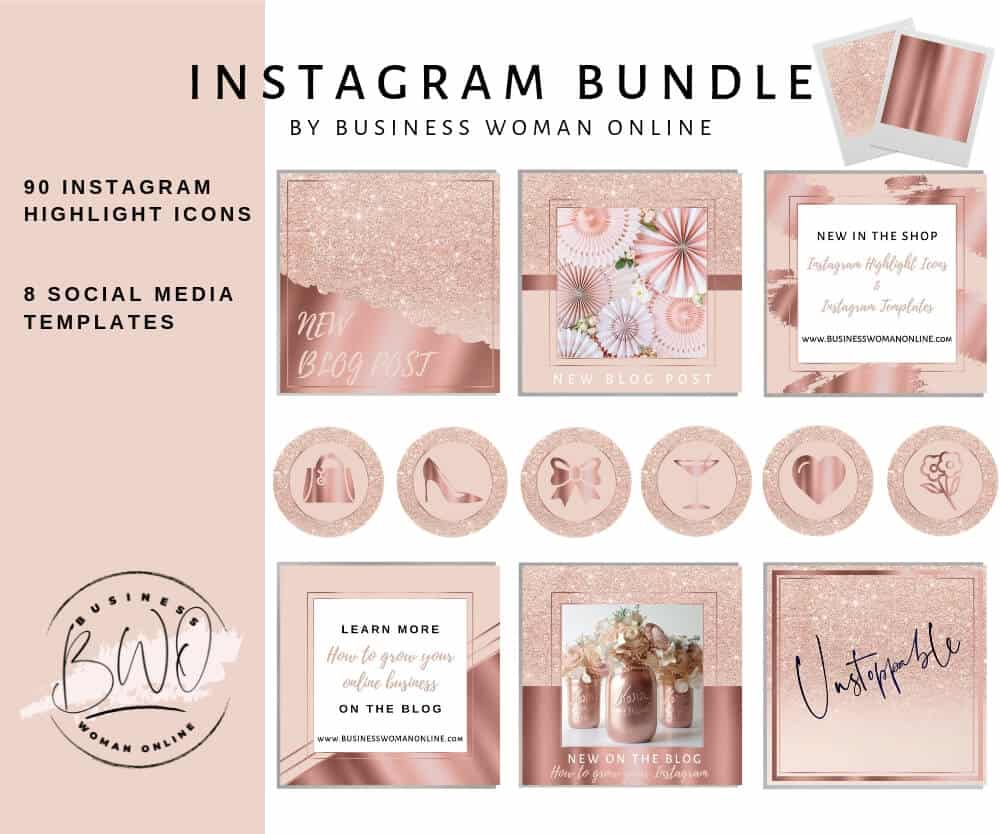 Instagram Highlight Icons Pink Cute Way To Style Your Instagram