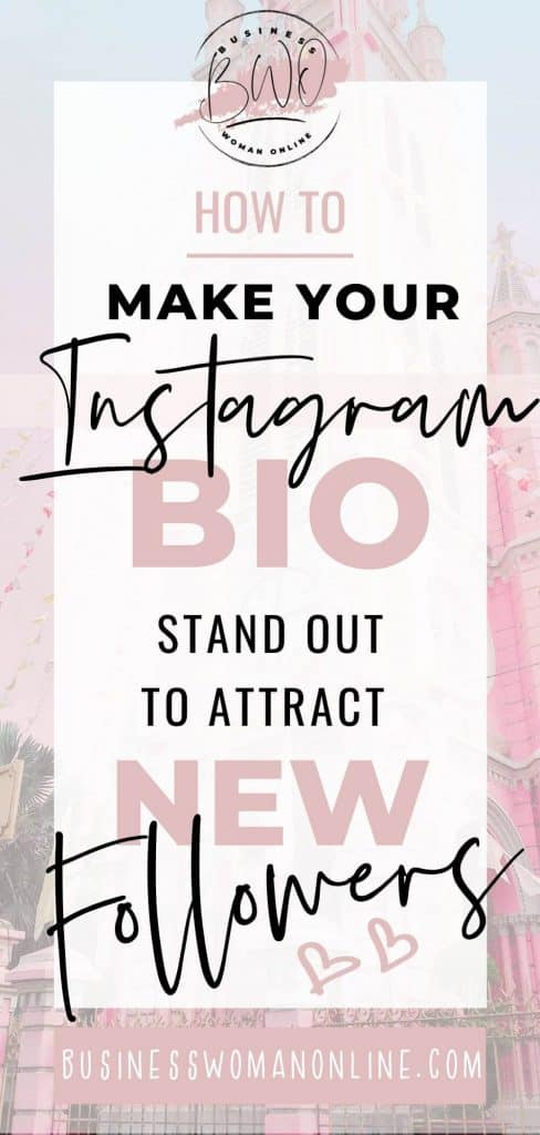 Make your Instagram bio stand out