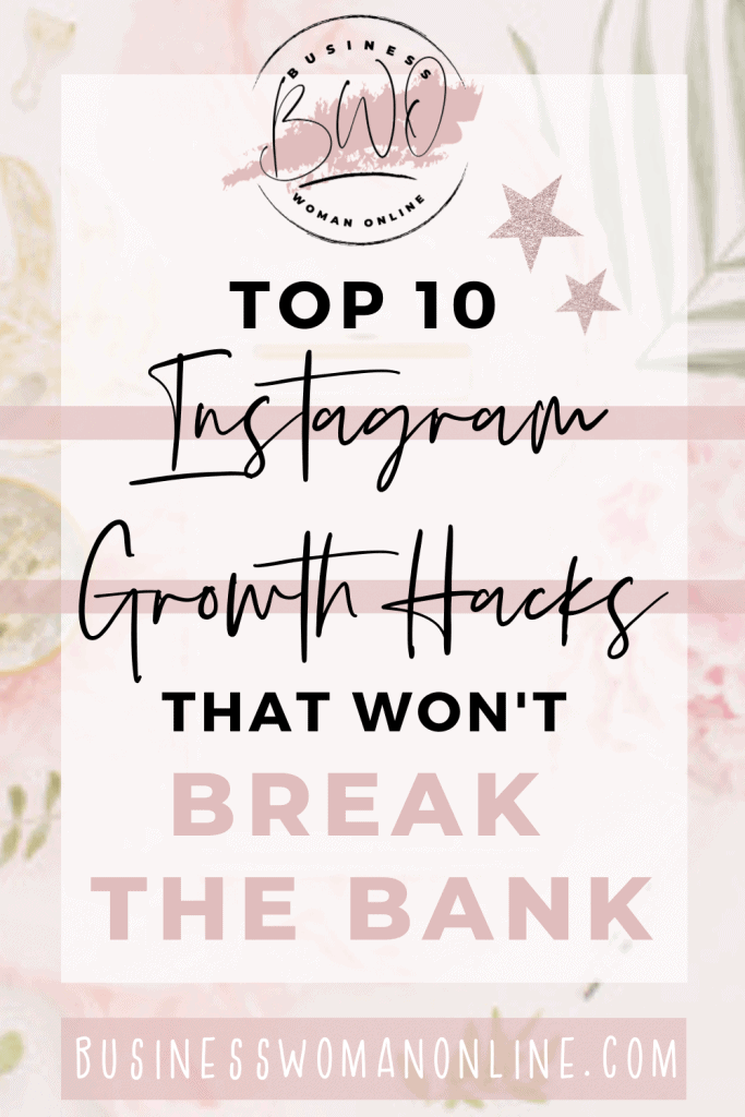 Instagram Growth Hacks that wont break the bank