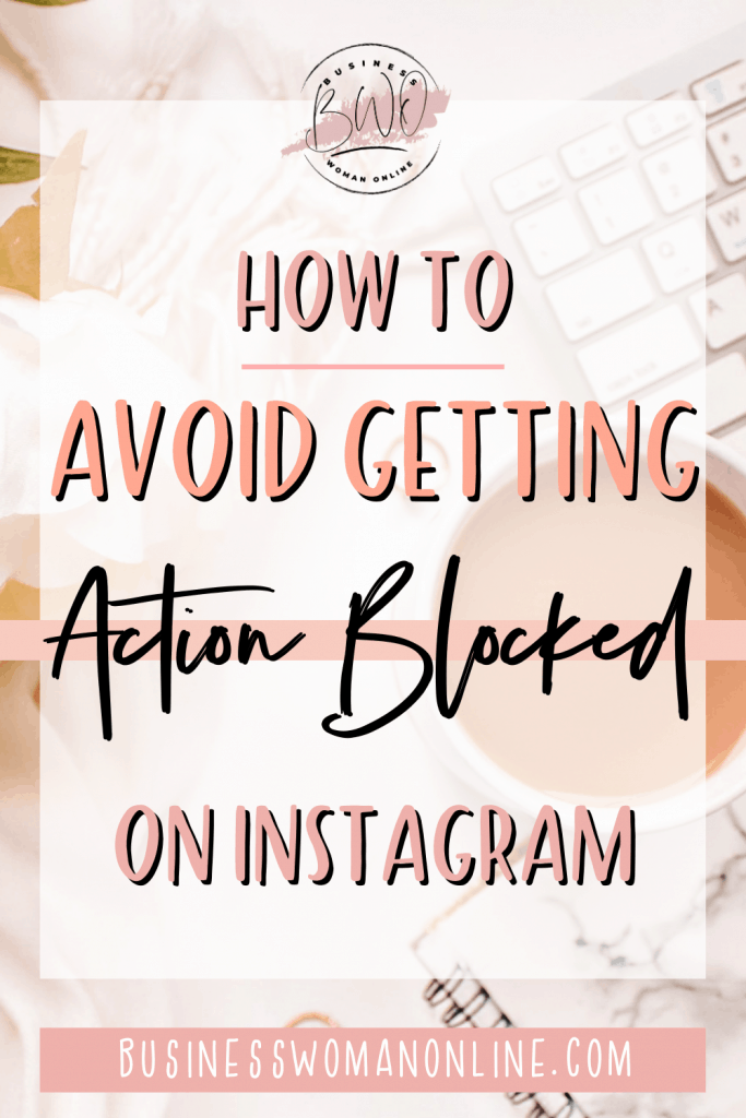Why are my actions blocked on Instagram?