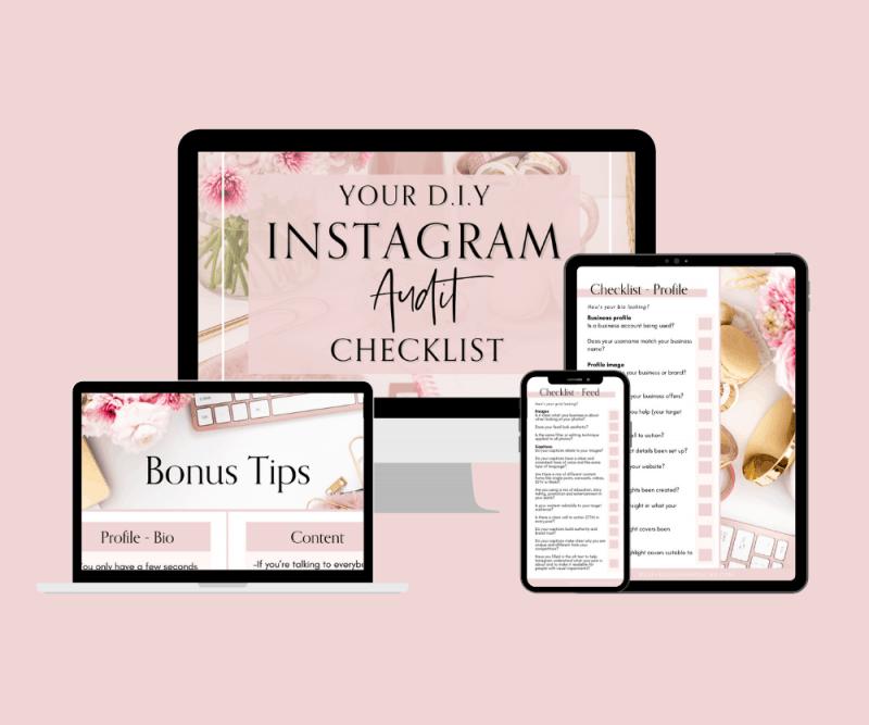 Instagram Audit Template Checklist