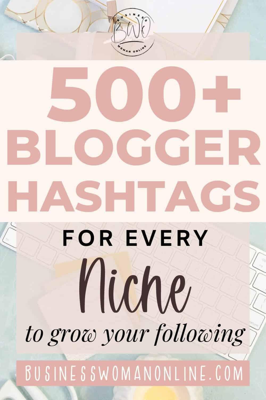 blogger hashtags Instagram