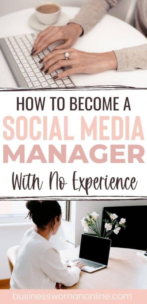 Ho to be a social media manager with no experience